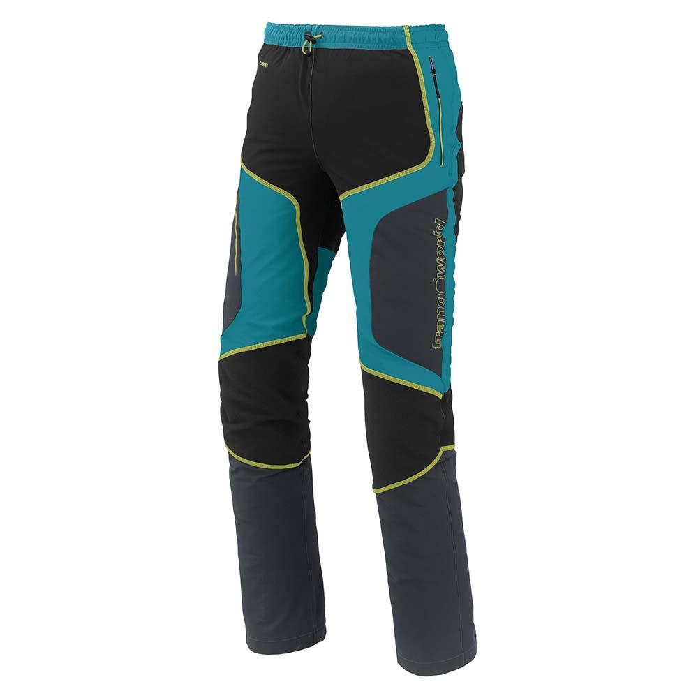 Trangoworld Sannat Pants Short L Bluebird / Anthracite