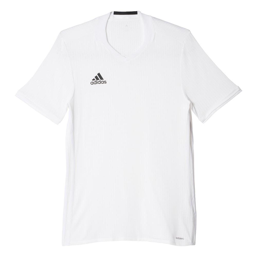 Adidas Condivo 16 Short Sleeve T-shirt 152 cm White / White
