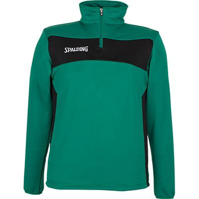 Spalding Sweatshirt Evolution Il XXXS Green / Black