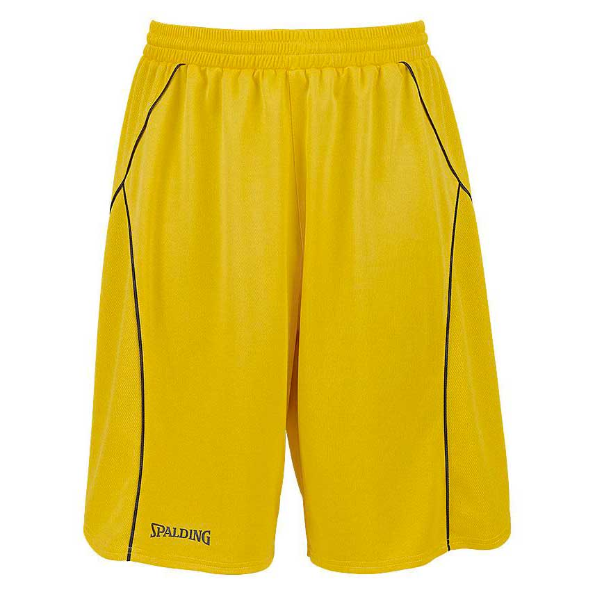 Spalding Crossover Shorts XXS Yellow / Black