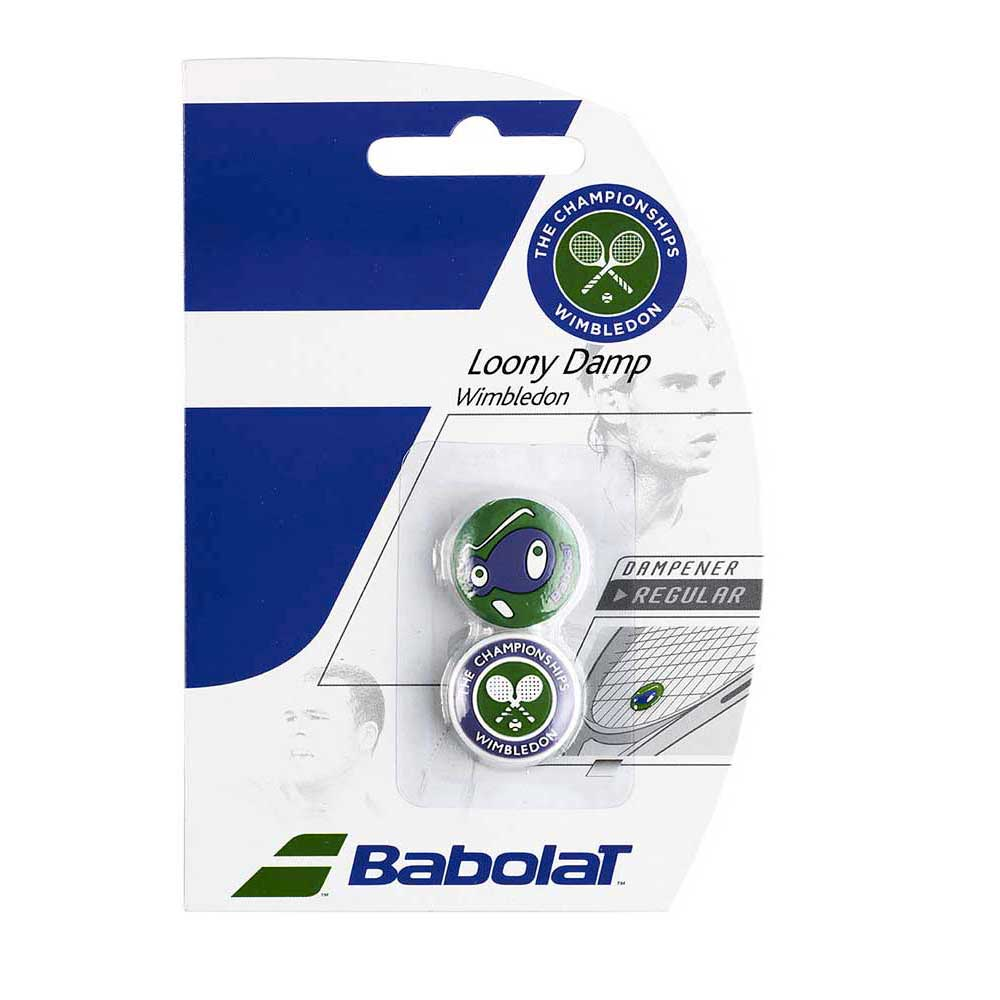 Babolat Loony Dampener Wimbledon 2 Units One Size Green / White