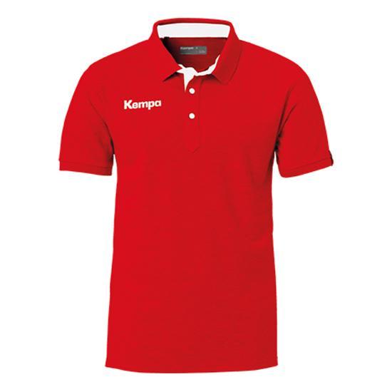 Kempa Polo Manche Courte Prime S Red / White