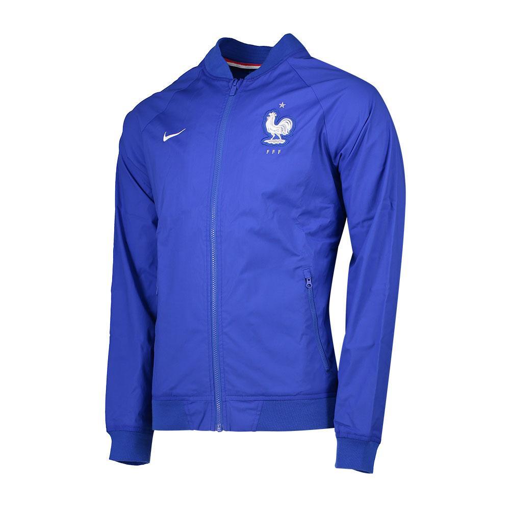 Nike Blouson France Authentic Varsity 2016 M Game Royal / White