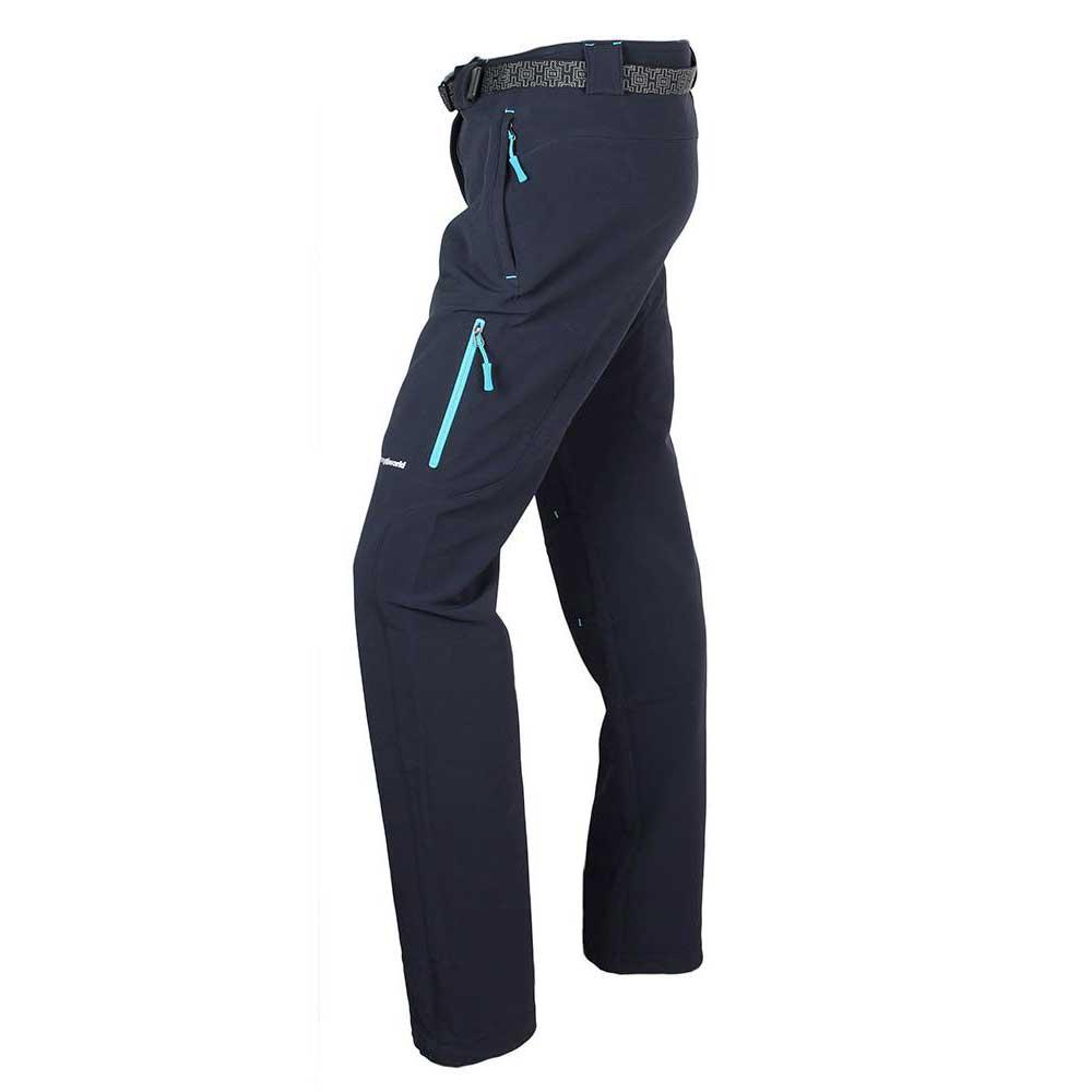 Trangoworld Myan Pants Woman XXL Black / Blue