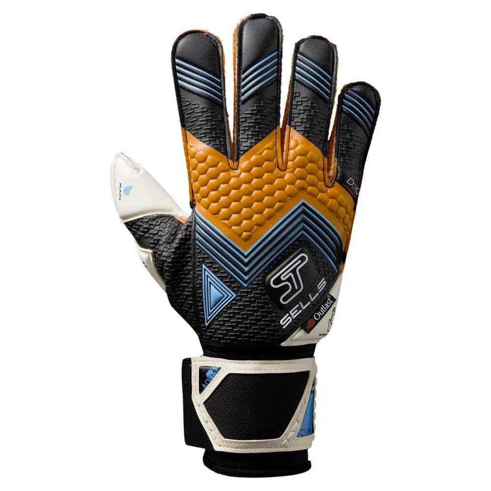 Sells Gants Gardien Axis 360 Elite Aqua 9 1/2 Black / Orange / Blue / White