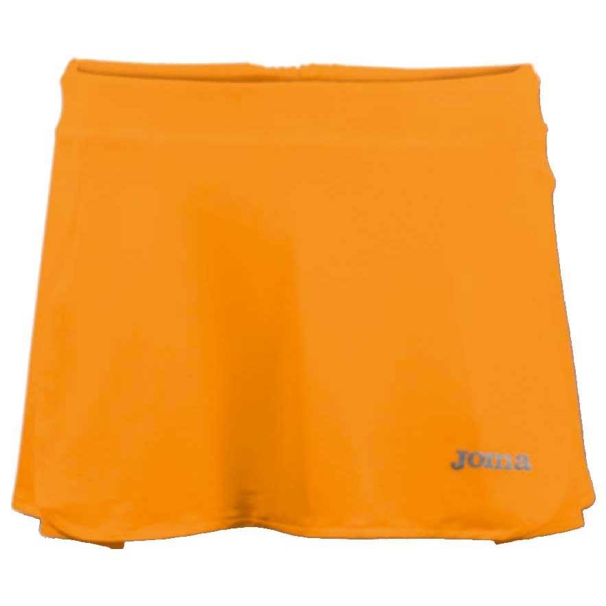 Joma Open Tennis Skirt S Orange Fluor