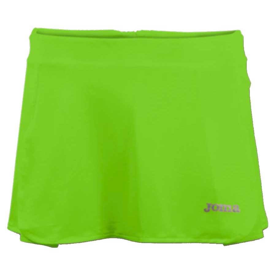 Joma Open Tennis Skirt 12-14 Years Green Fluor
