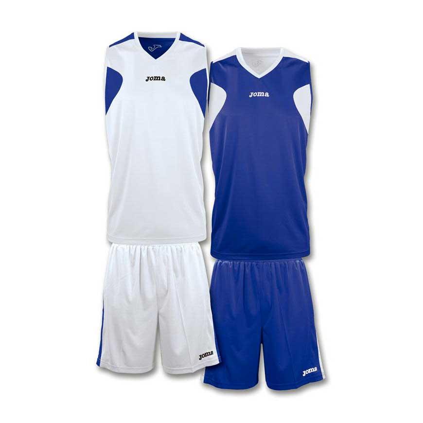 Joma Basket Reversible XS-S White / Navy