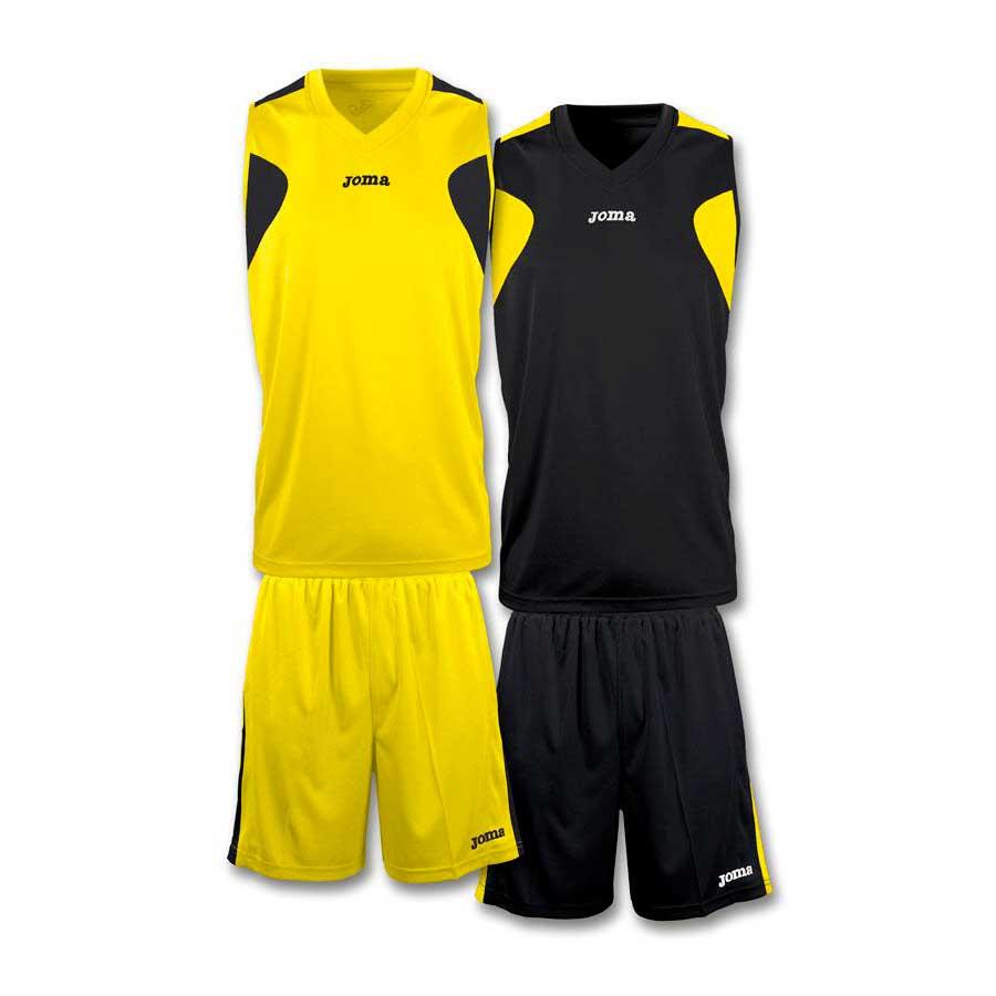 Joma Basket Reversible XS-S Yellow / Black