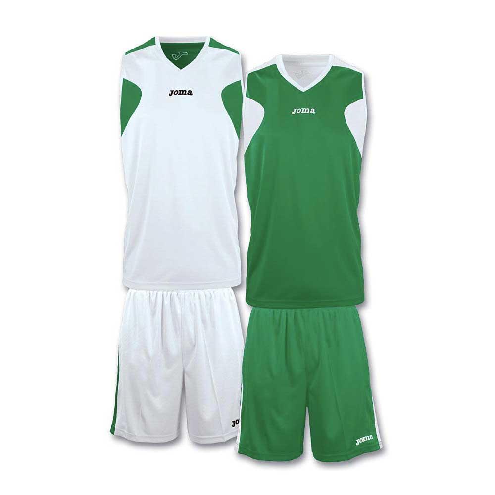 Joma Basket Reversible XS-S Green / White