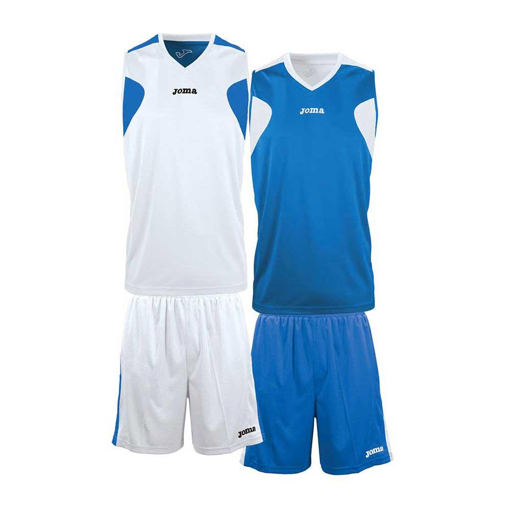 Joma Basket Reversible XS-S White / Royal