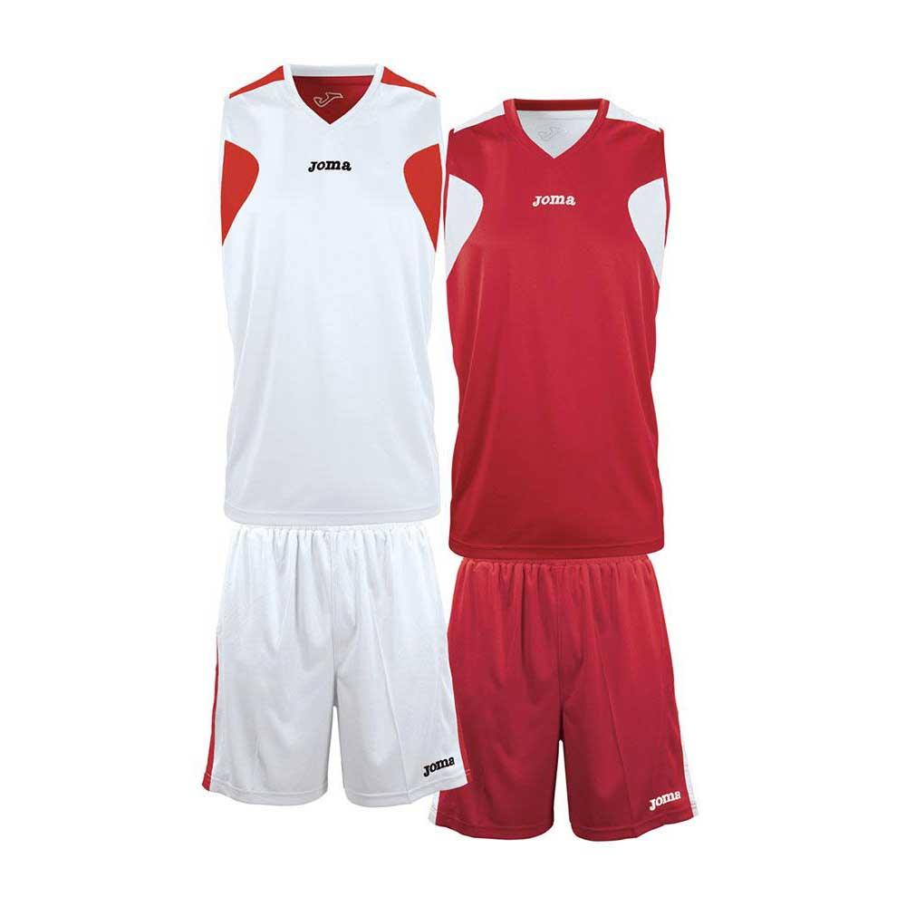 Joma Basket Reversible M-L White / Red
