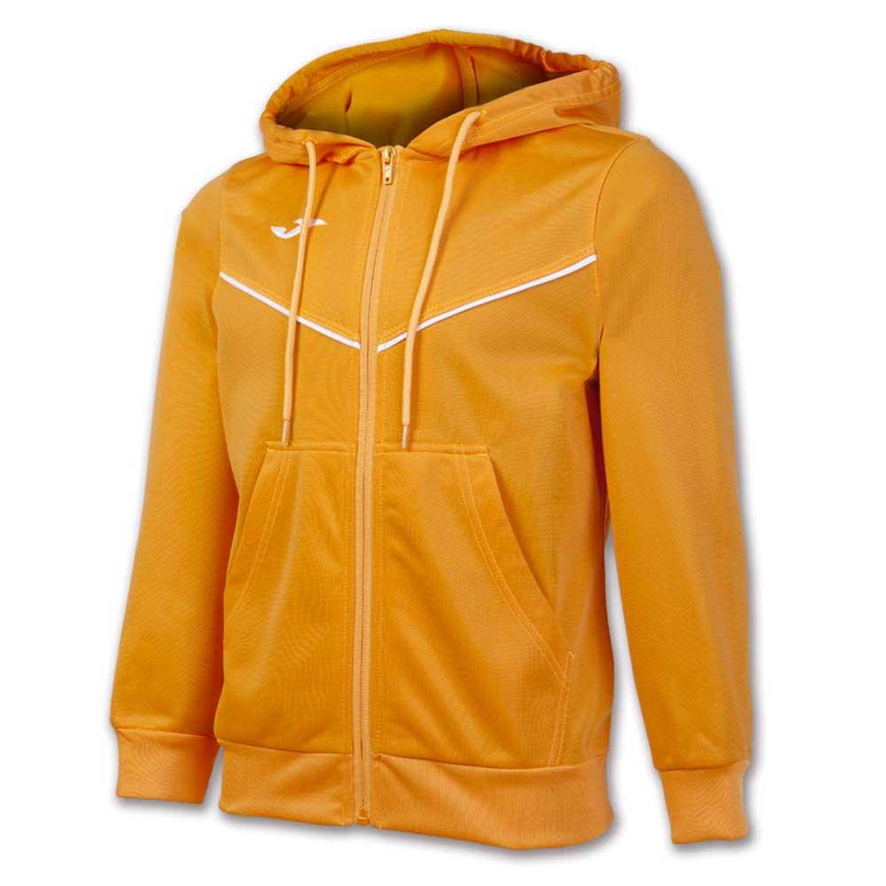 Joma Jacket Hooded Plural 5XS Orange Fluor