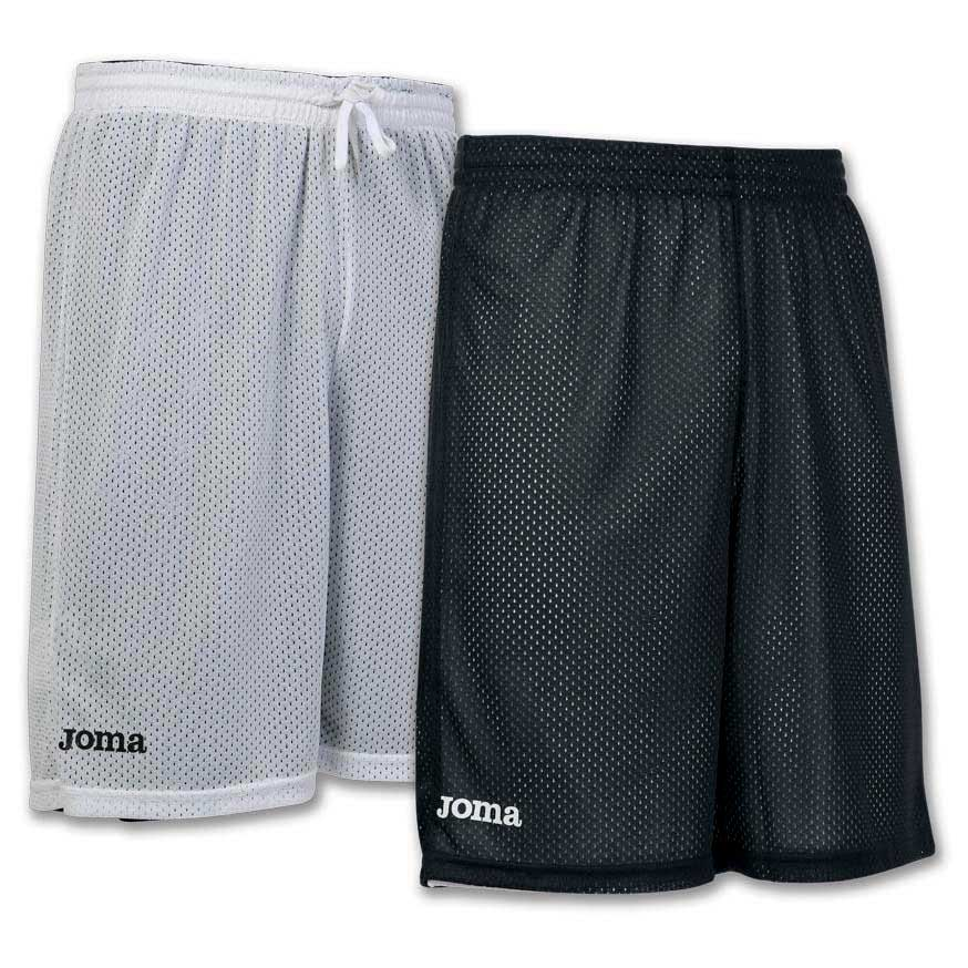 Joma Short Basket Reversible Rookie 6XS-5XS Black / White