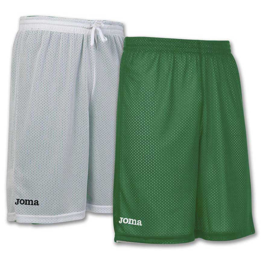 Joma Short Basket Reversible Rookie 6XS-5XS Green / White