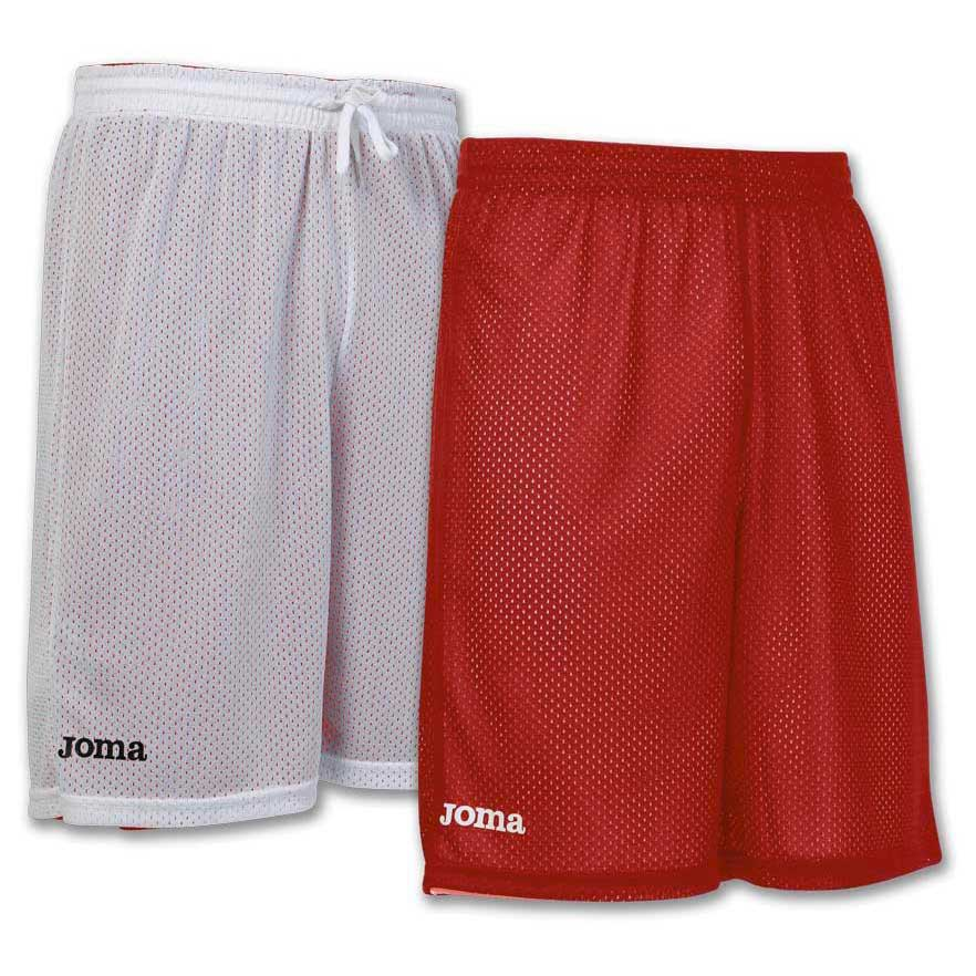 Joma Short Basket Reversible Rookie 6XS-5XS Red / White