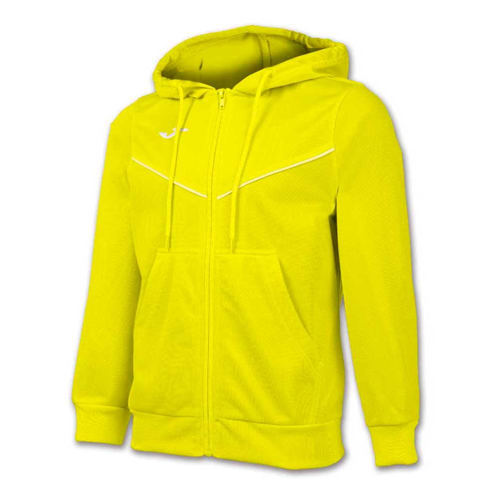 Joma Jacket Hooded Plural 6XS Yellow Fluor