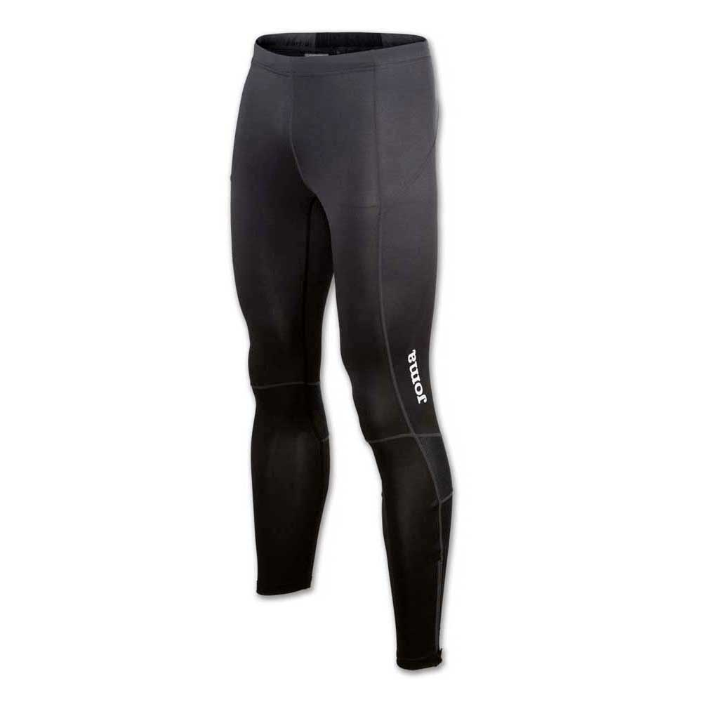 Joma Long Tight Elite V XXXXS-XXXS Anthracite / Black