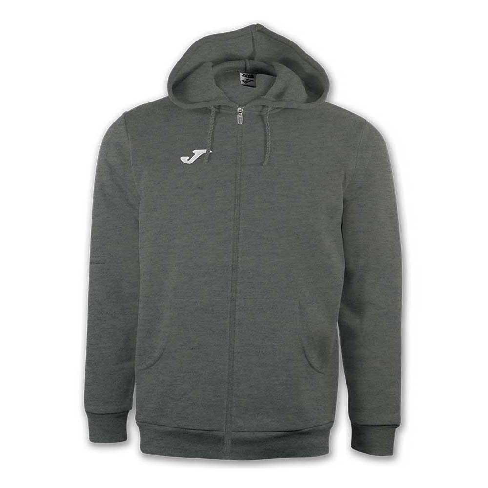 Joma Jacket Hooded Combi XXXXS Dark Melange