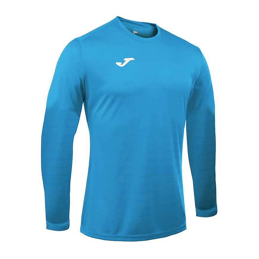 Joma Campus Ii Long Sleeve T-shirt S Sky Blue