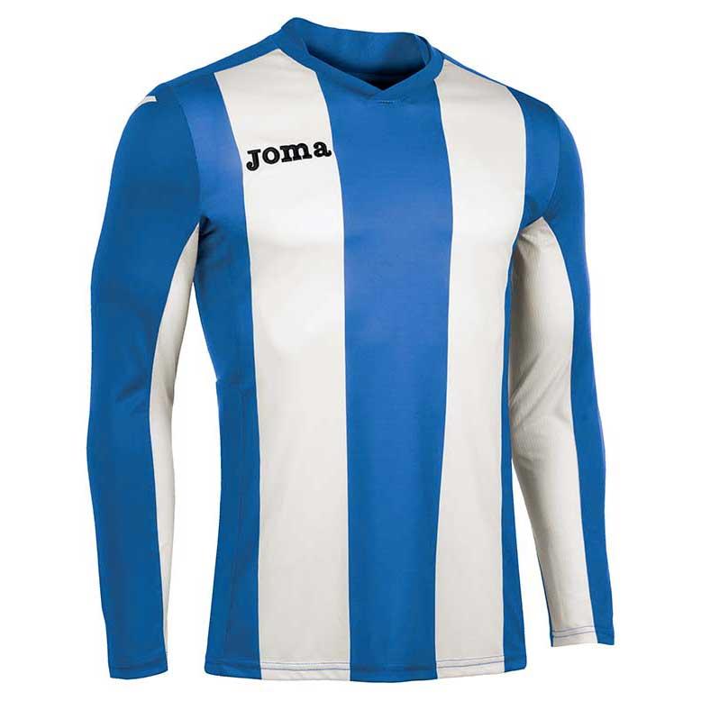 Joma Pisa V T-shirt Manche Longue S Royal / White