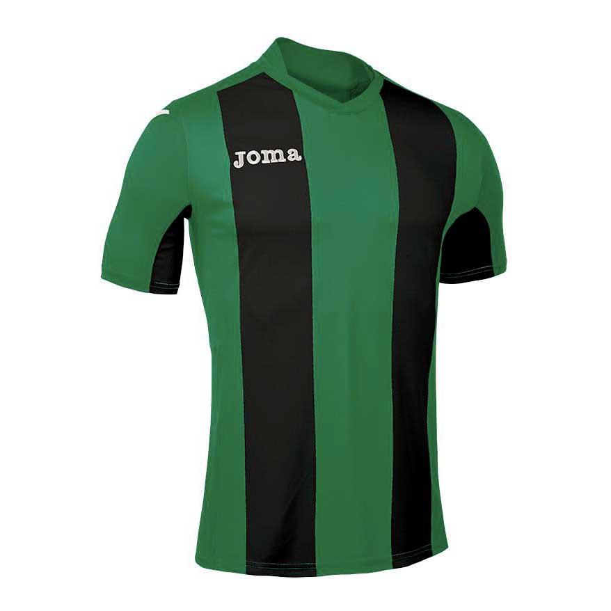 Joma T-shirt Manche Courte Pisa V S Green / Black