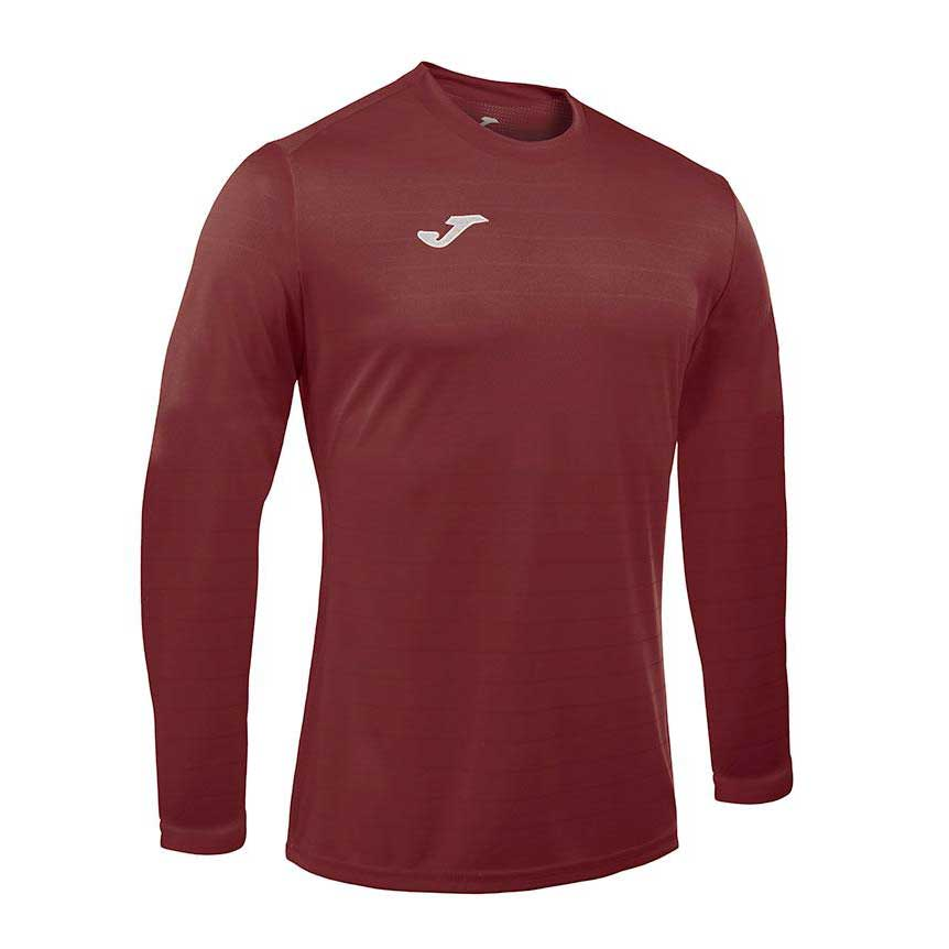 Joma Campus Ii Long Sleeve T-shirt S Ruby
