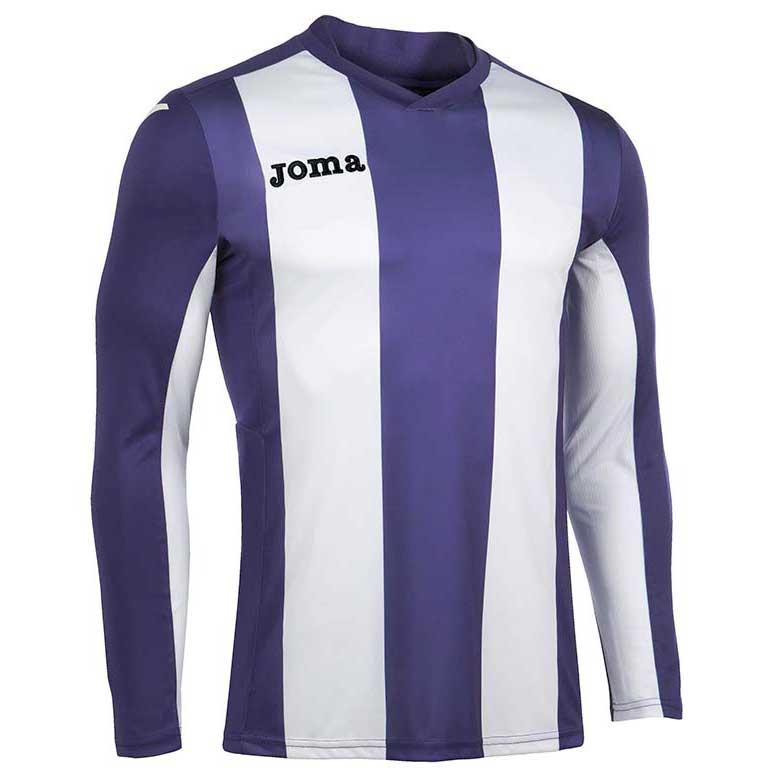 Joma Pisa V T-shirt Manche Longue S Purple / White