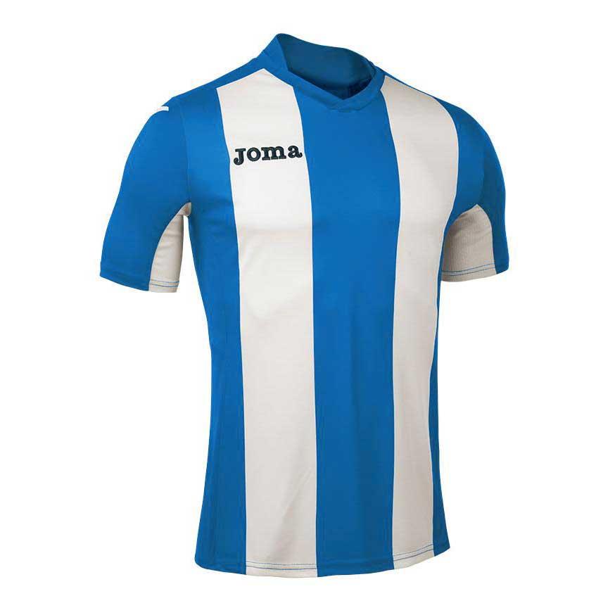 Joma T-shirt Manche Courte Pisa V S Royal / White