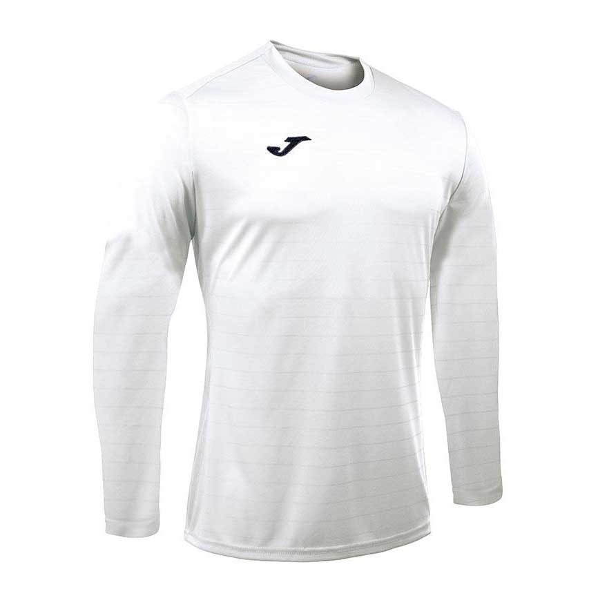 Joma Campus Ii Long Sleeve T-shirt S White