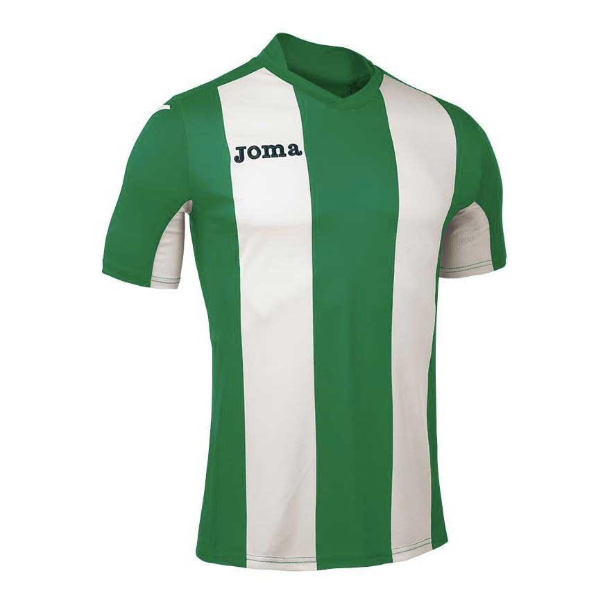 Joma T-shirt Manche Courte Pisa V S Green / White
