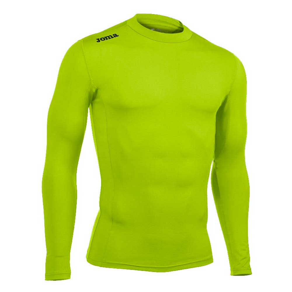 Joma Seamless Underwear L/s 5XS Green Fluor