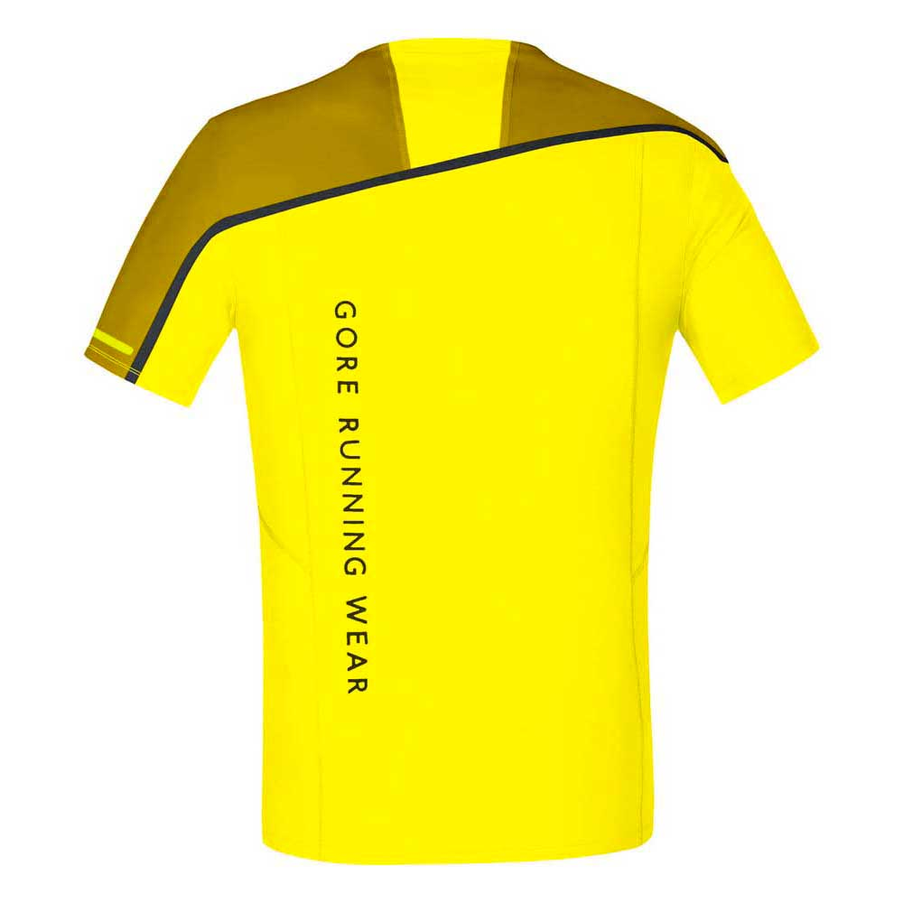 Gore Zip In esecuzione Fusion Zip Gore Cadmium giallo / oroen Oak , Magliette Gore In esecuzione 8c5fef