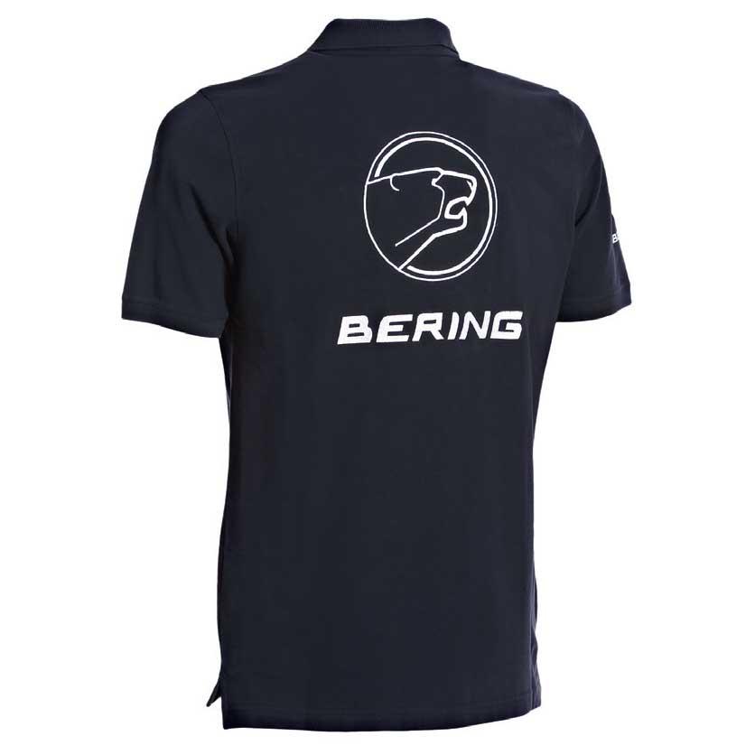 Bering Dony Polo Polo Polo Navy , Polo Bering , motociclismo , Abbigliamento Uomo 7c2147