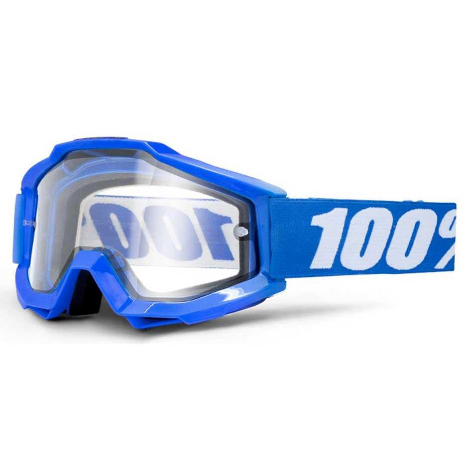 100percent Accuri Enduro Goggle Clear/CAT0 Reflex Blue