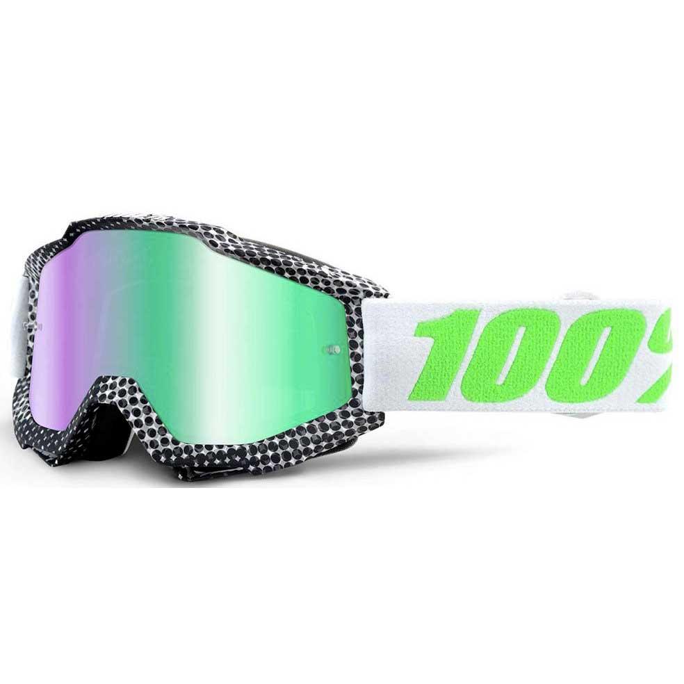 100percent Accuri Goggle Green Mirror Newsworthy