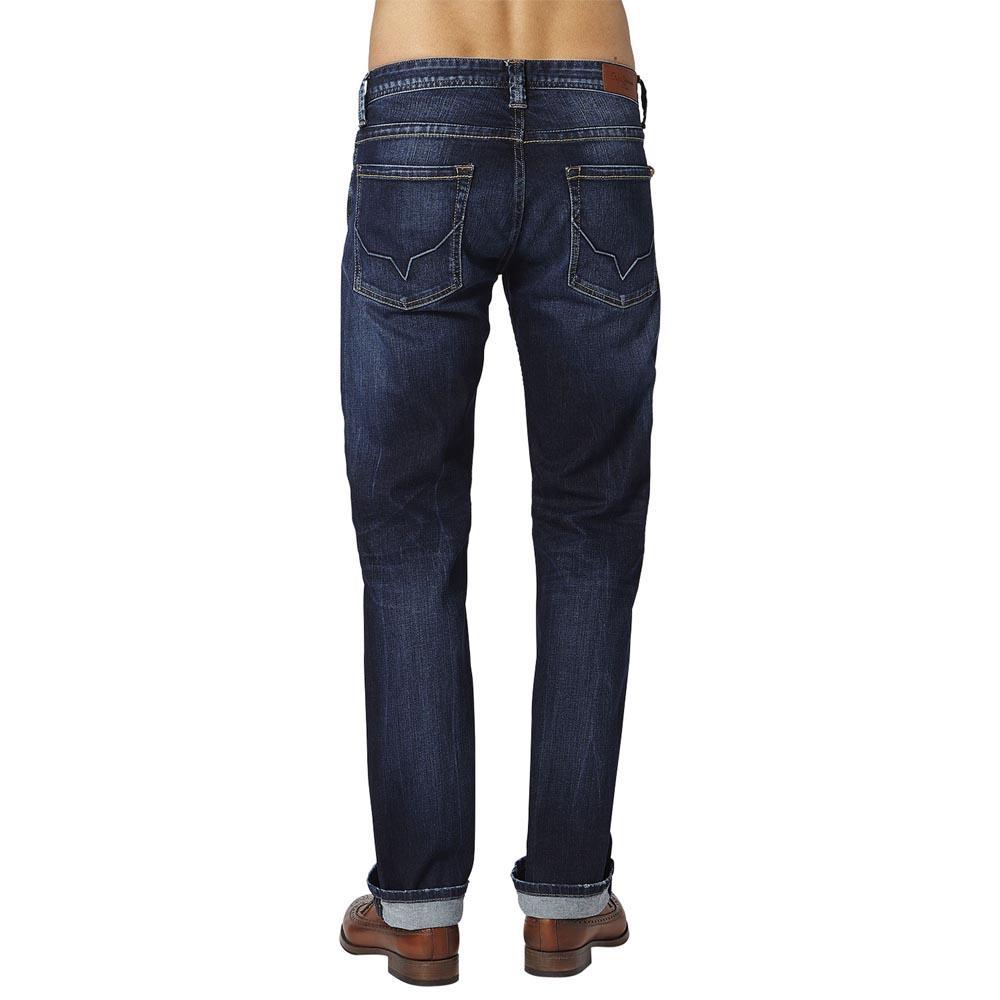 Pepe Jeans Kingston Kingston Kingston Zip Stretch Dark Denim  Hosen Pepe jeans  mode c1f04f