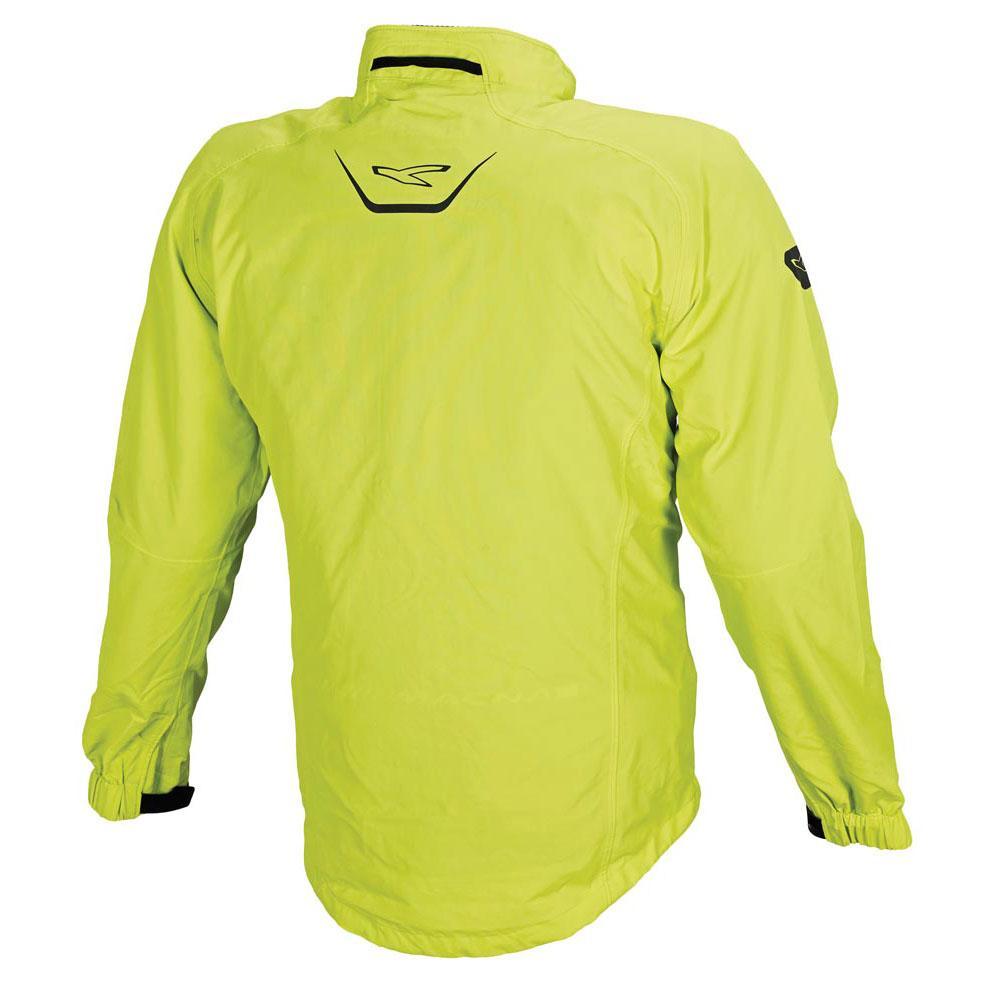Black Vêtements Vestes Homme Flight Moto Jacket Yellow Macna pYBqtp