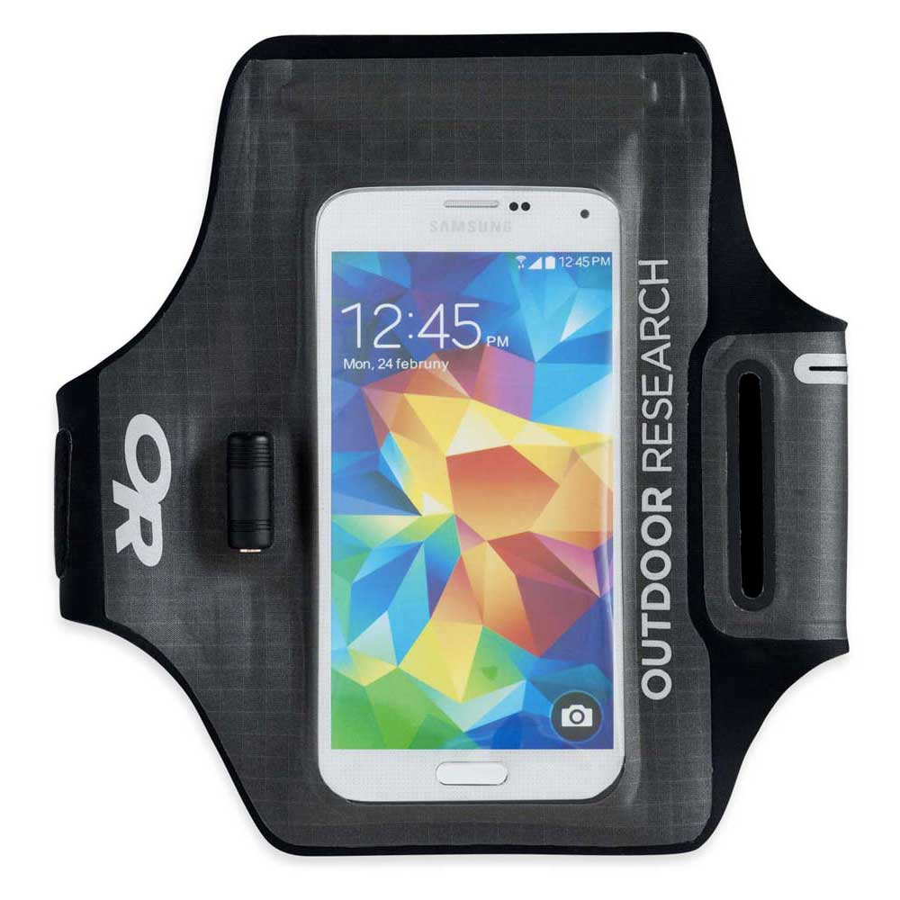 Outdoor Research Sensor Dry Pocket Armband One Size Charcoal