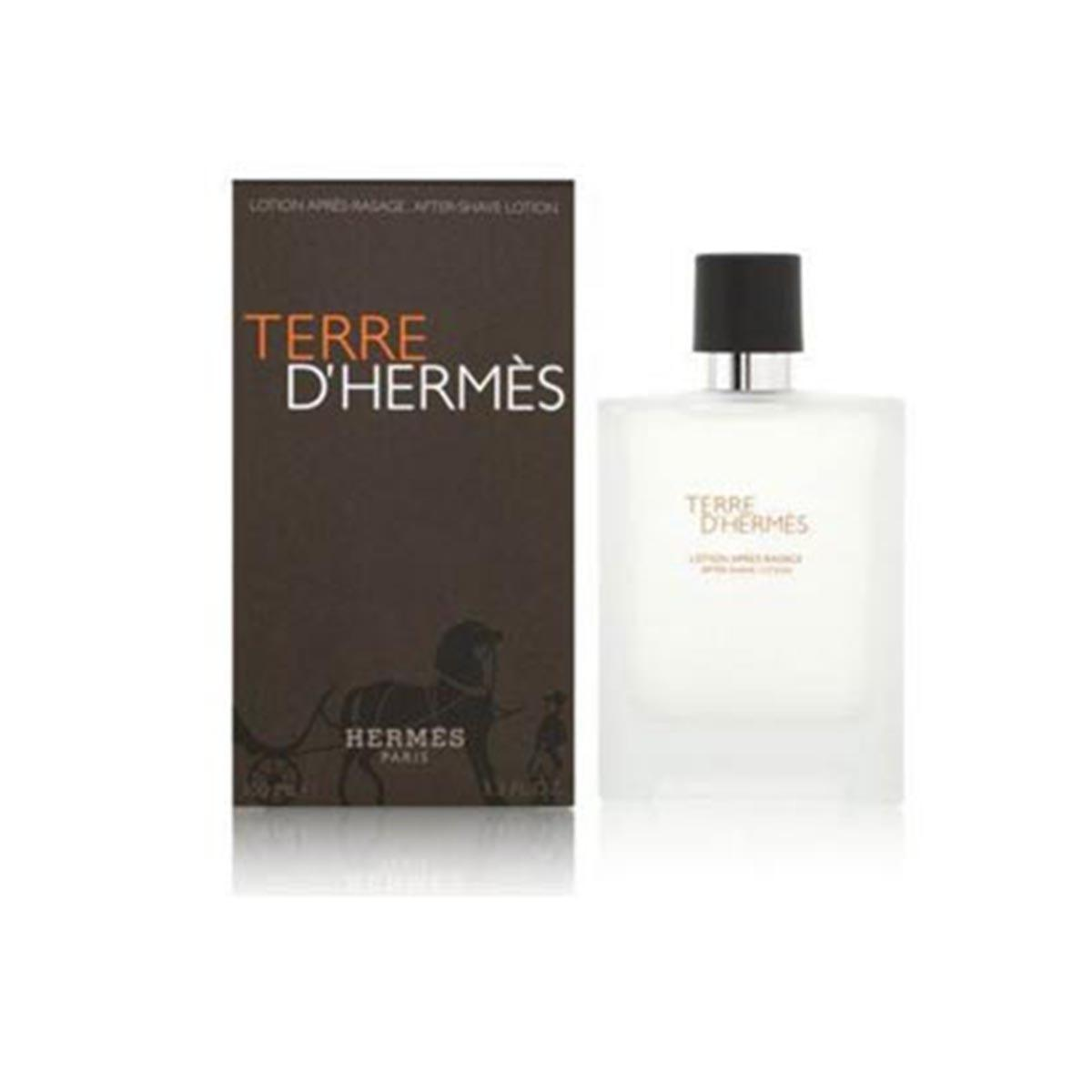 Hermes Terre D Aftershave Lotion 100ml One Size