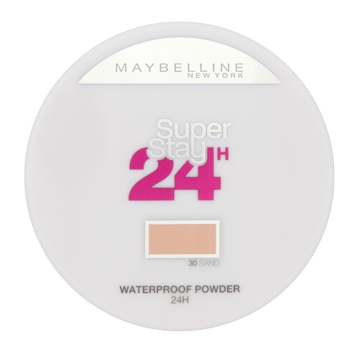 Maybelline Fragrances Super Super Super Stay 24h Waterproof Powder 30 Sand Rose , Visage b60fb1