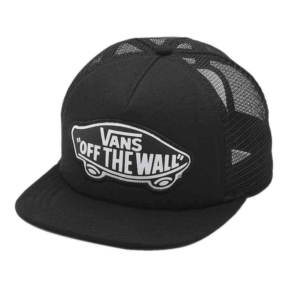 c840e2a003c23 Vans Beach Girl Trucker Hat Onyx   White