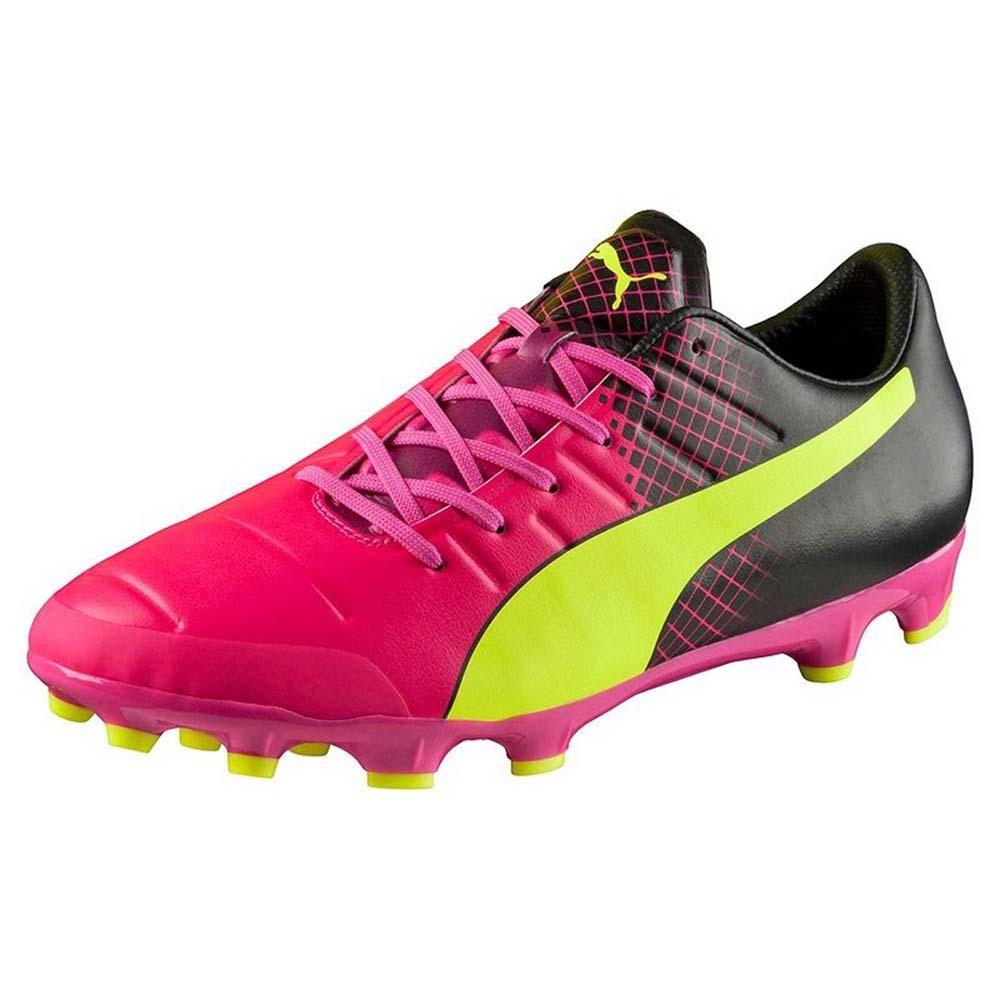 Puma Evopower 2.3 Ag EU 42 Pink / Safety Yellow / Black