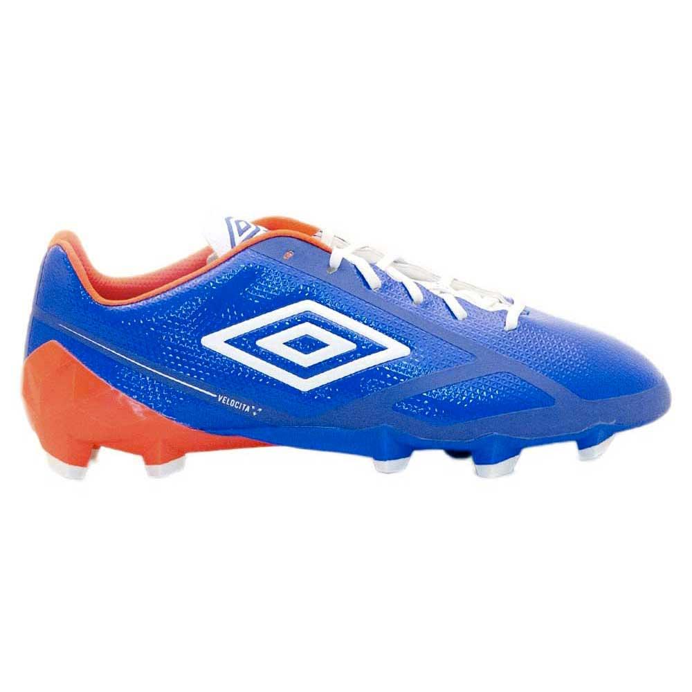 Umbro Chaussures Football Velocita 2 Pro Hg EU 44 Navy / Orange