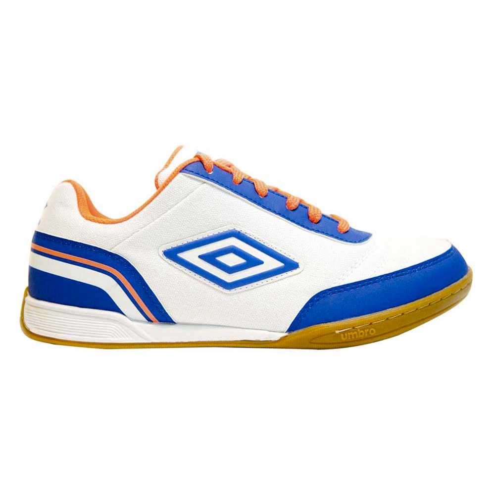Umbro Chaussures Football Salle Street V In EU 45 White / Blue / Orange