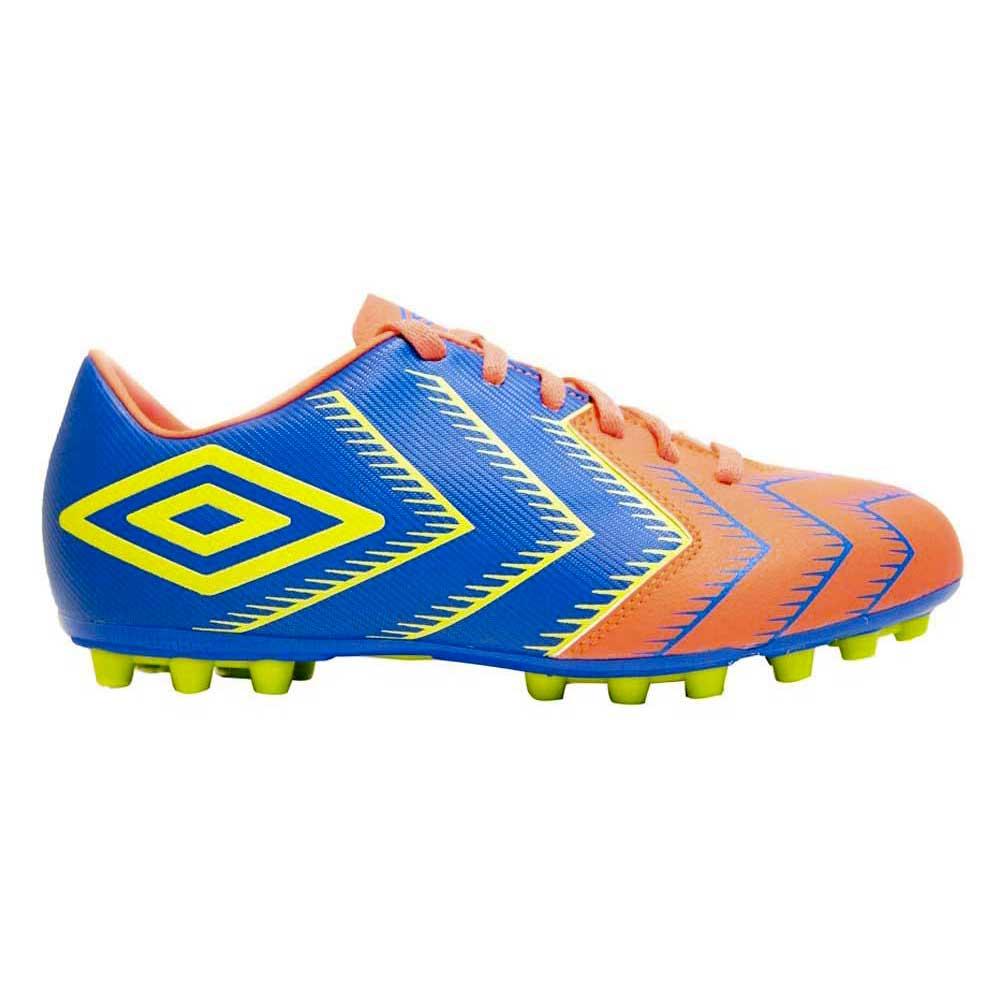 Umbro Stadia 3 Ag Football Boots EU 44 Navy / Orange / Yellow
