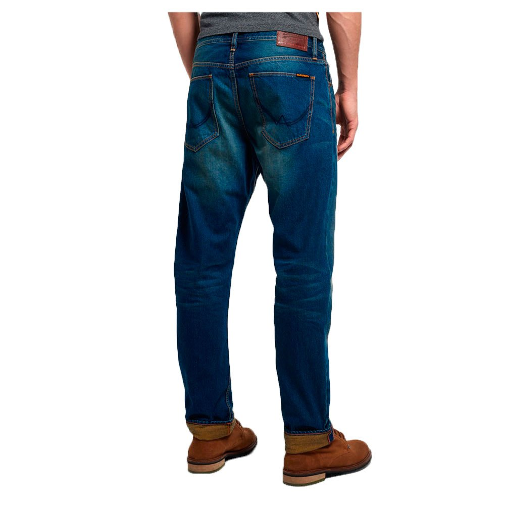 Superdry Copperfill Loose L32 Blau  Hosen Hosen Hosen Superdry  mode  Herrenkleidung 23aa9f
