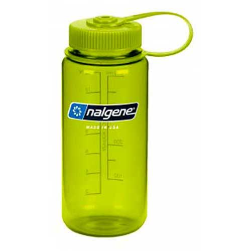 Nalgene Wide Mouth 500ml One Size Green / Loop-Top Green
