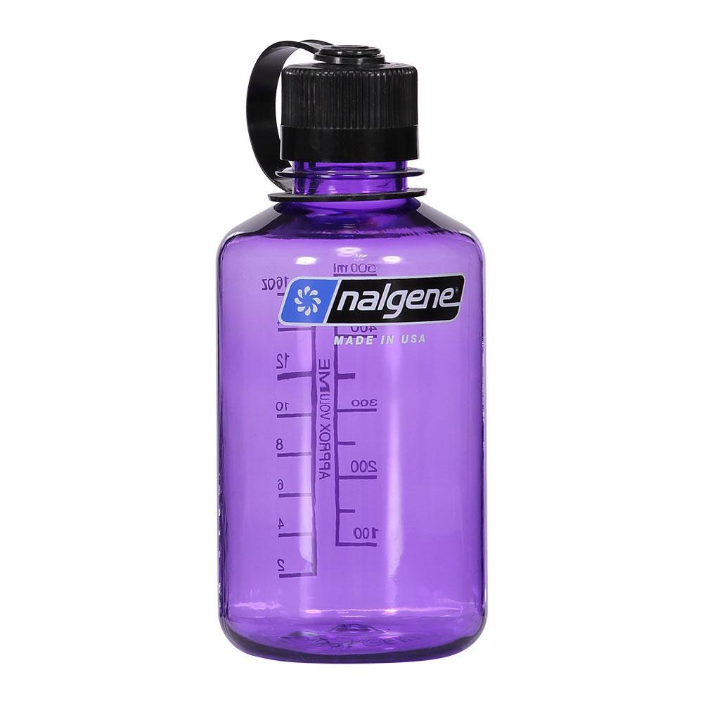 Nalgene Narrow Mouth Bottle 500ml One Size Purple / Loop-Top Black