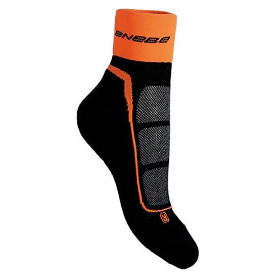 Nb Enebe Gripdown Socks EU 36-40 Black / Orange